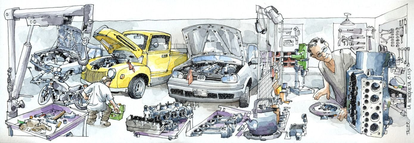 autorepaircartoon